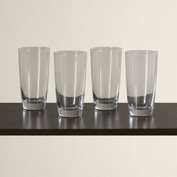 Molena 16 oz. Highball Glass (Set of 4) by Mint Pantry