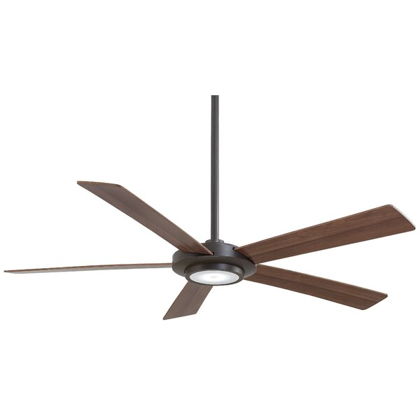 52 Sabot 5 Blade LED Ceiling Fan by Minka Aire