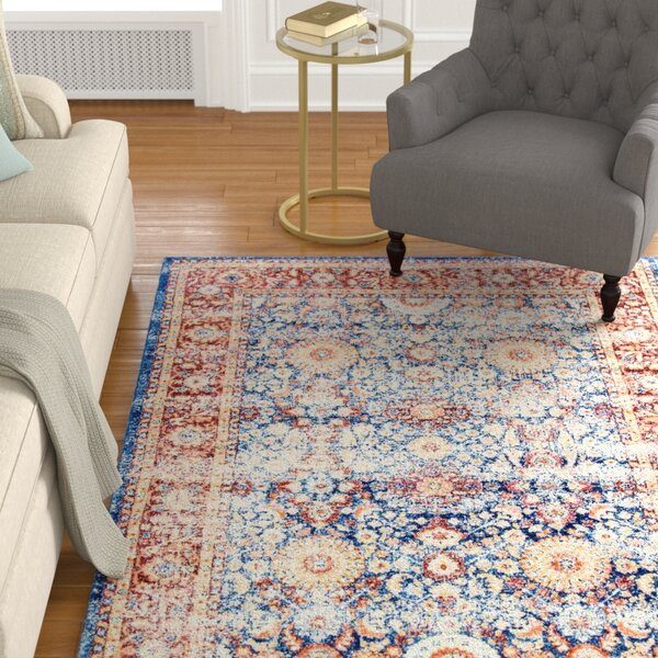 Melville Blue Area Rug by Charlton Home