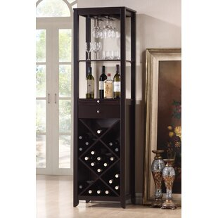 Trombley 28 Bottle Floor Wine Cabinet
