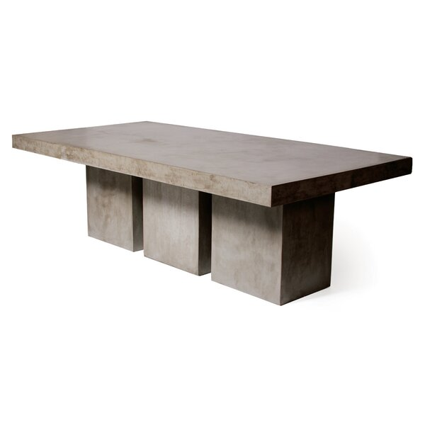Tuscan Concrete Dining Table