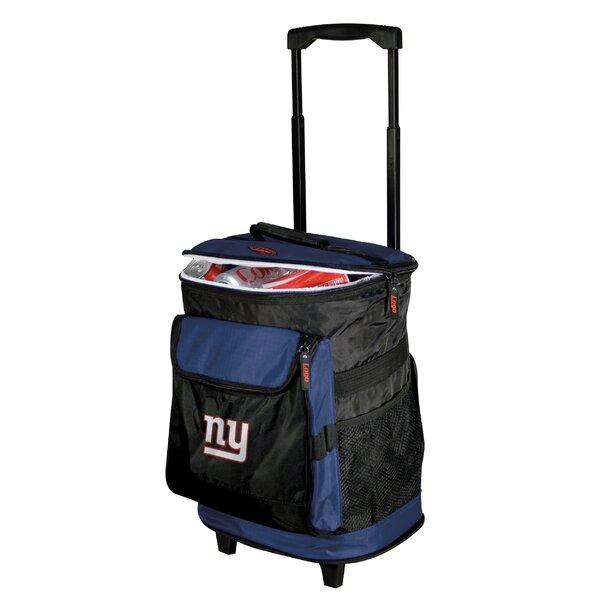 NFL Rolling Cooler by Logo Brands