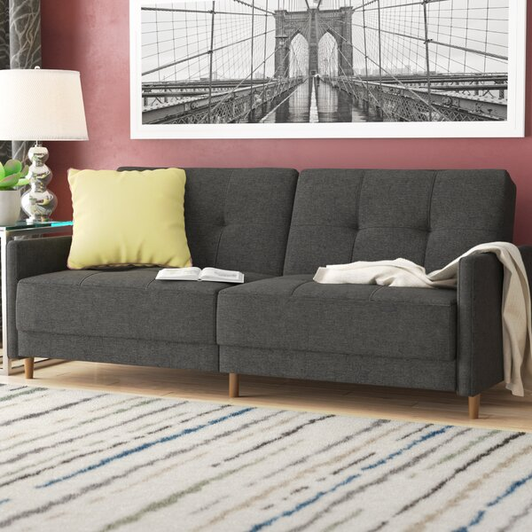 Geraldton Linen Convertible Sofa by Zipcode Design