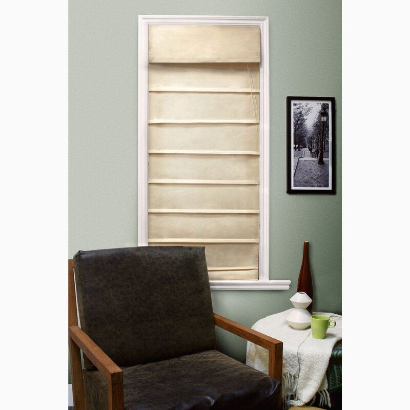 Symple Stuff Room Darkening Beige Roman Shade Amp Reviews