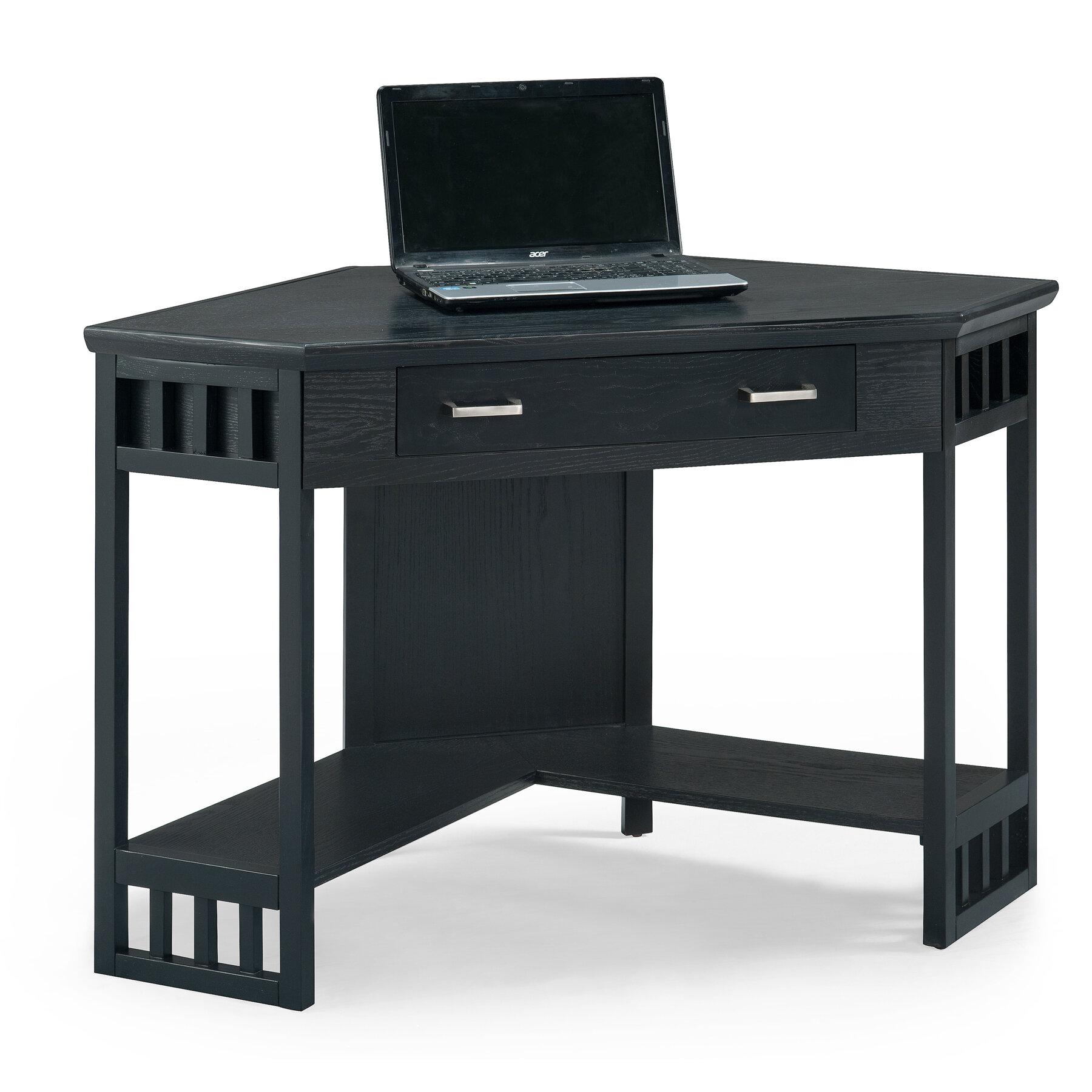 reputable site 986d7 bd8be Noam Solid Wood Corner Desk
