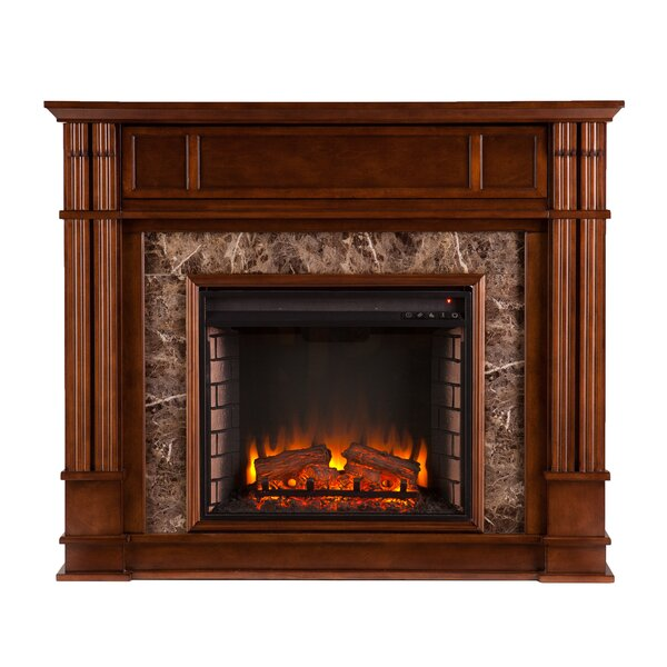 Moffett Heartwood Electric Fireplace by Alcott Hill