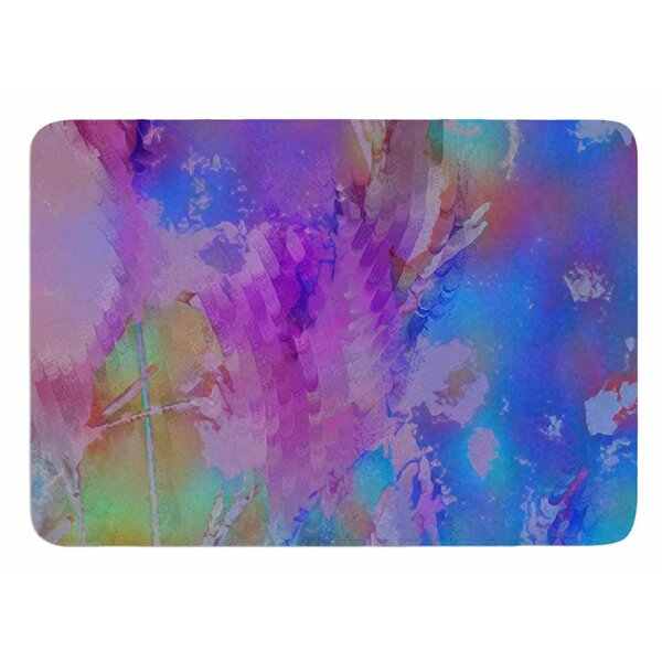 Painterly Foliage Series 3 by Malia Shields Bath Mat by East Urban Home