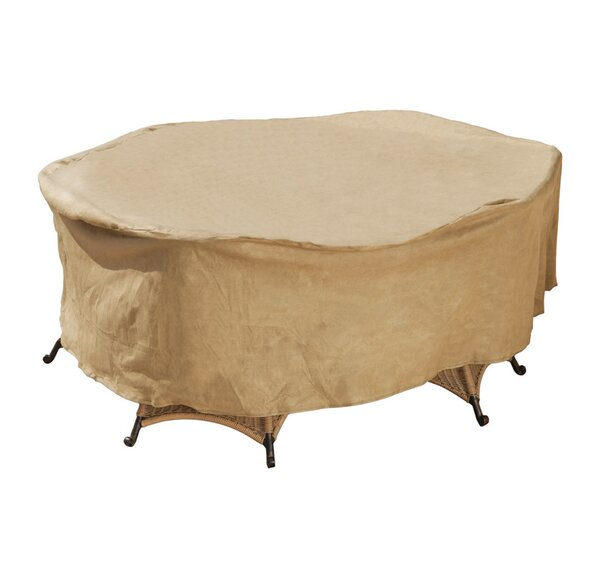 Oval Water Resistant Patio Dining Set Cover by Freeport Park