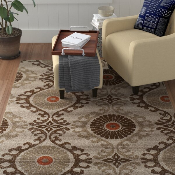 Connelly Mocha Indoor/Outdoor Area Rug  by Winston Porter