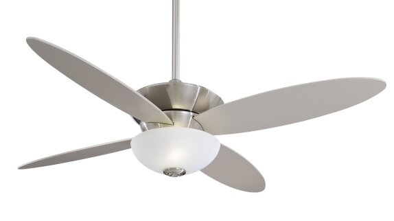52 Zen 4 Blade LED Ceiling Fan with Remote by Minka Aire