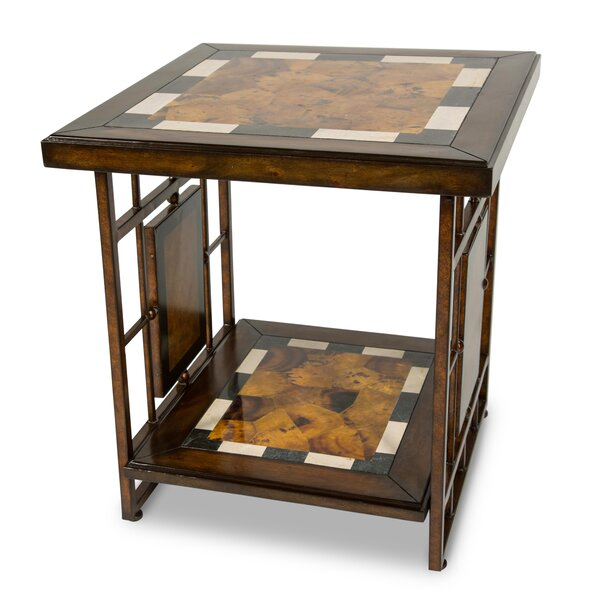 Sau Pualo End Table By Michael Amini Today Only Sale