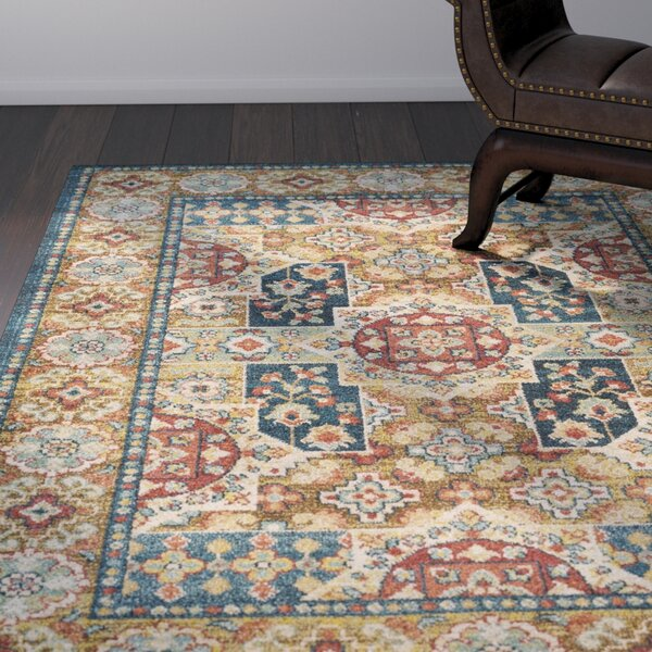 Naranjo Market Blue Area Rug by World Menagerie