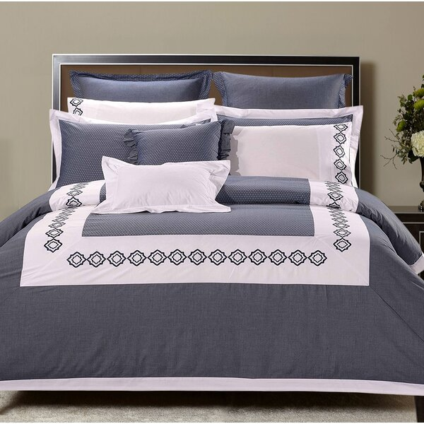 Mechling 7 Piece 100% Pure Cotton Duvet Cover Set