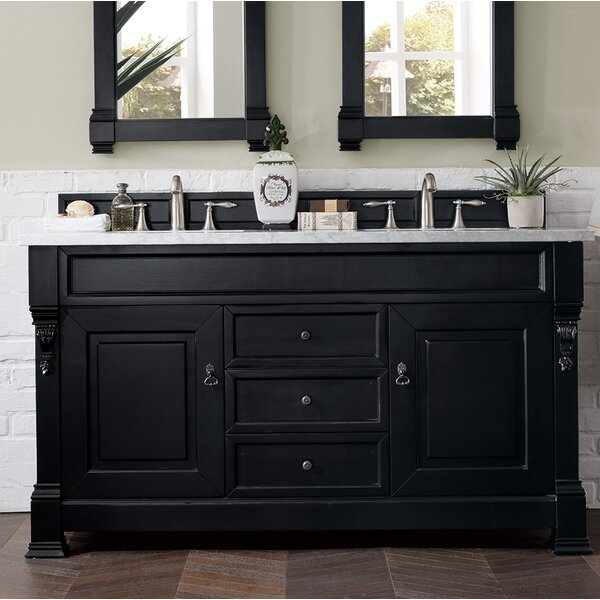 Bedrock 60 Double Bathroom Vanity Set by Darby Home Co