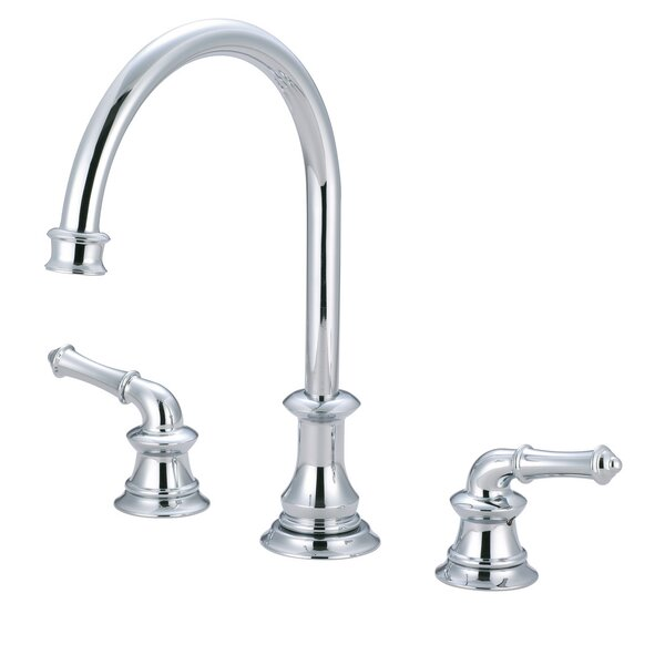 Double Handle Kitchen Faucet with Optional Side Spray by Just Manufacturing