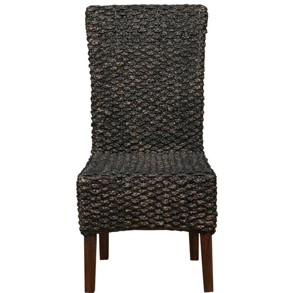 Dallin Solid Wood Dining Chair by Bay Isle Home
