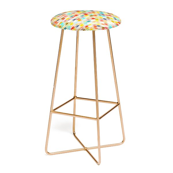 Sharon Turner Rashmi Ikat 30 Bar Stool by East Urban Home