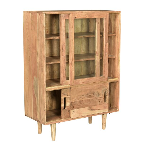 Kangley Sliding 2 Door Accent Cabinet by Union Rustic