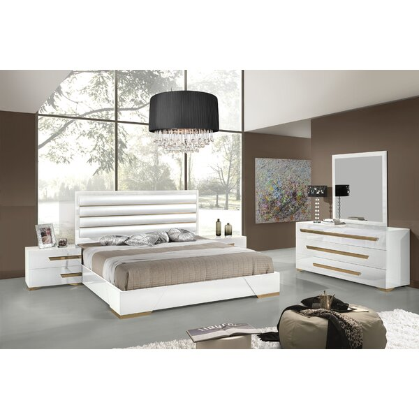 Eloisa Platform 5 Piece Bedroom Set by Willa Arlo Interiors