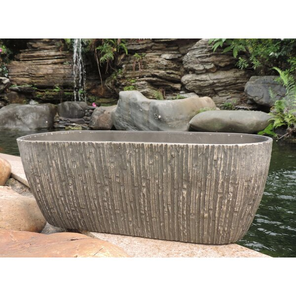 Self-Watering Fiber Clay Pot Planter by Griffith Creek Designs