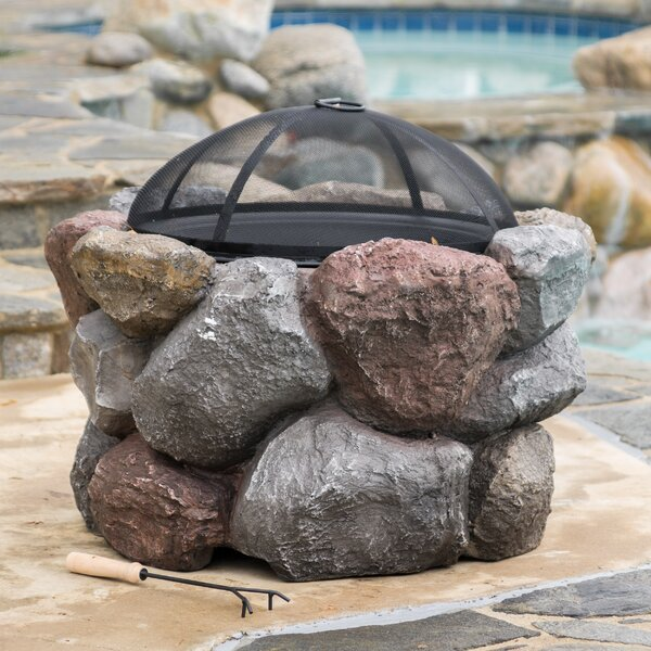 Merseyside Concrete Wood Burning Fire Pit by Freeport Park