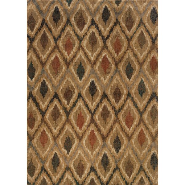 Johan Beige/Gray Area Rug by World Menagerie