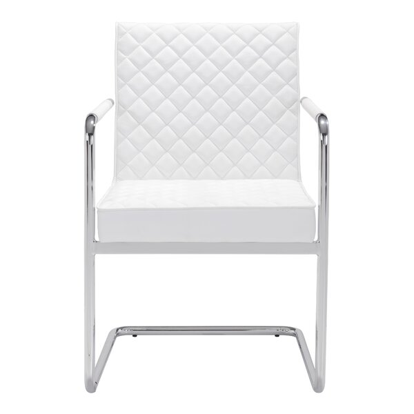 Roddy Patio Dining Chair with Cushion (Set of 2) by Willa Arlo Interiors