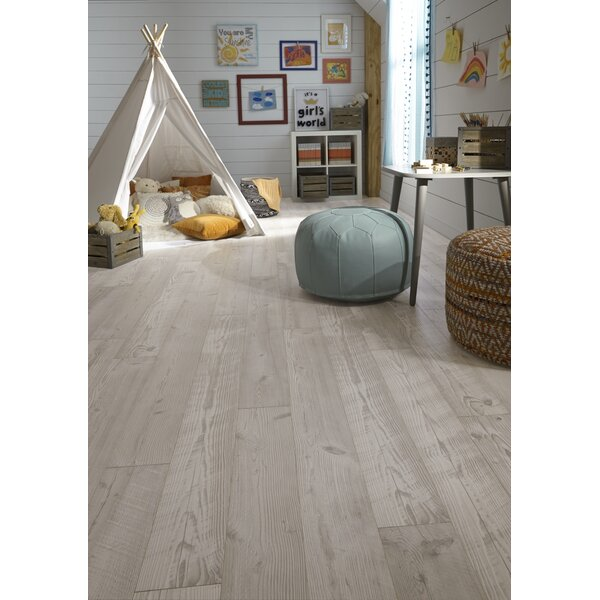 Restoration 6'' x 51'' x 12mm Seaview Pine Laminate Flooring in Dune by Mannington