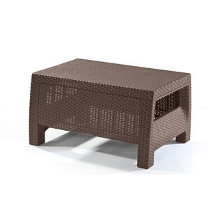 Garden Furniture You Can Leave Out All Year patio coffee tables you'll love | wayfair