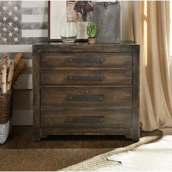 Roslyn County 3 Drawer Lateral Filing Cabinet by Hooker Furniture