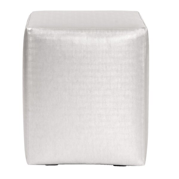 Cherie Cube Ottoman by Everly Quinn