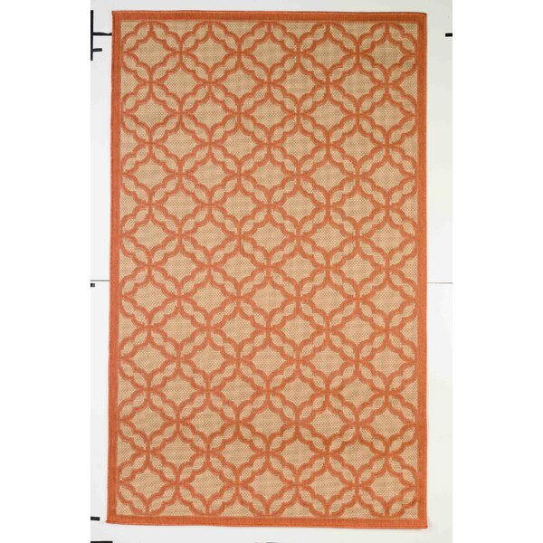 Kevan Coral Indoor/Outdoor Area Rug by Darby Home Co