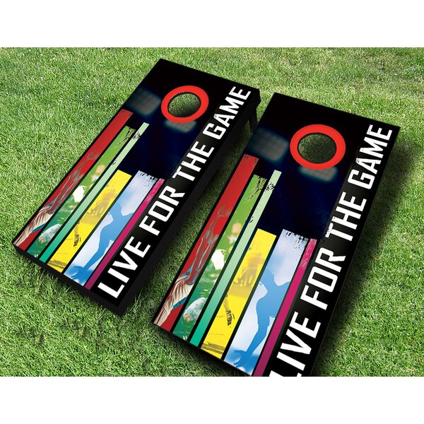 Sports Fanatic Cornhole Set by AJJ Cornhole