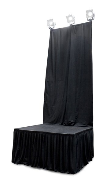 Staging 101 Back Drop Curtain by Intellistage