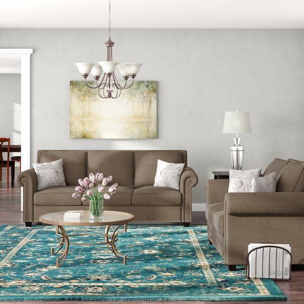 Connelly 2 Piece Living Room Set  by Alcott Hill