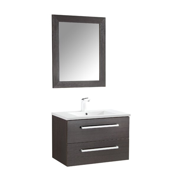 Engram 30 Single Bathroom Vanity Set with Mirror by Orren Ellis