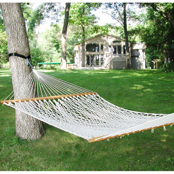Lawson Cotton Rope Tree Hammock by Beachcrest Home