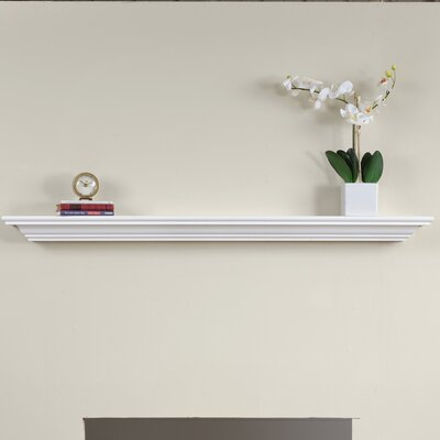 Corlina Fireplace Mantel Shelf Pearl Mantels Emory Adjustable  Reviews