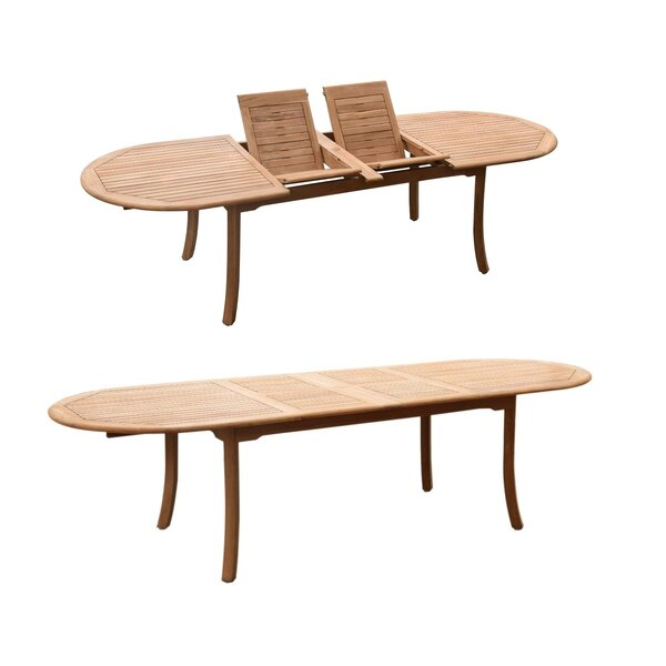 Masuda 7 Piece Teak Dining Set by Rosecliff Heights