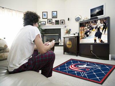 NHL - NCAAumbus Blue Jackets 5x8 Doormat by FANMATS