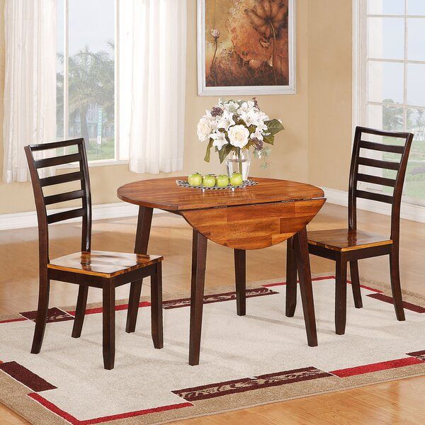 3 Piece Drop Leaf Dining Set by Wildon Home®