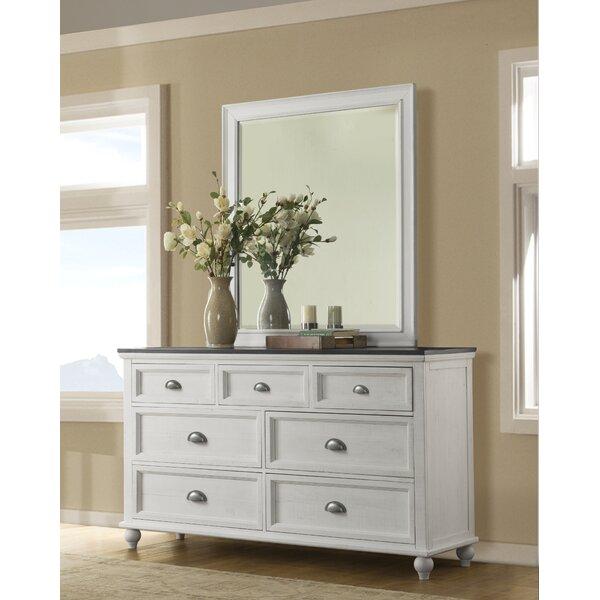 Risner 7 Drawer Dresser with Mirror by Gracie Oaks