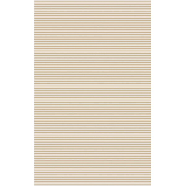 Vargo Hand-Woven Beige Area Rug by Wrought Studio