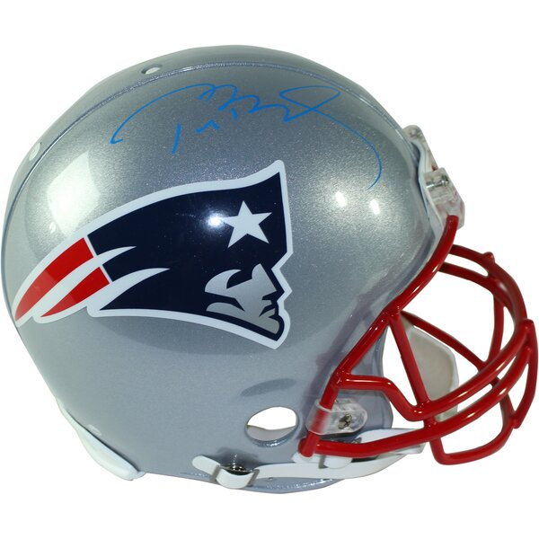Tom Brady Signed Patriots Authentic Proline Full Size Helmet by Steiner Sports