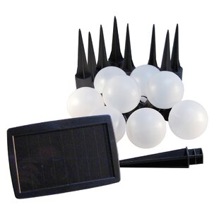 Top Reviews Solar 8 -Light String Lighting By LumaBase