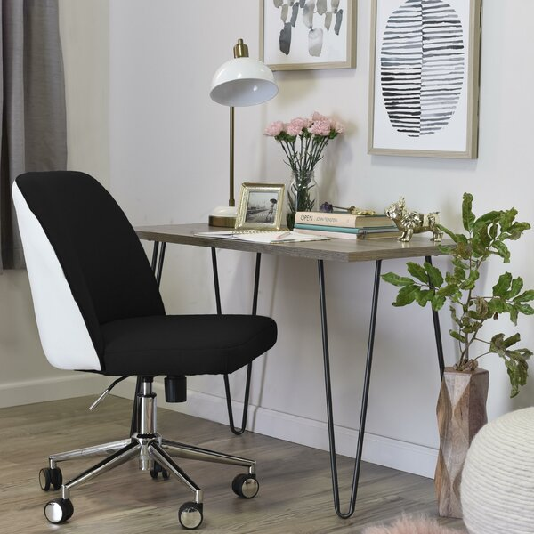 Maia Two-Tone Task Chair by Elle Decor