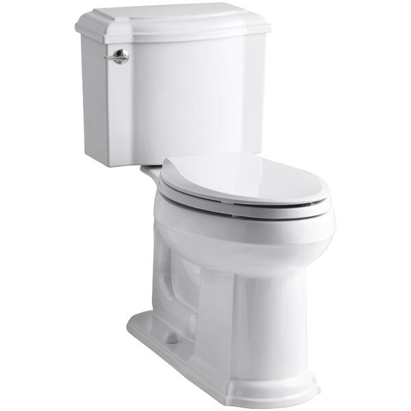 Devonshire Comfort Height Two Piece Elongated Toilet by Kohler