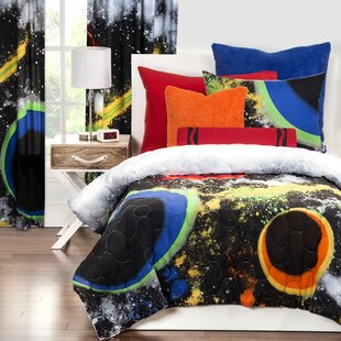World map comforter set wayfair out of this world comforter set gumiabroncs Gallery