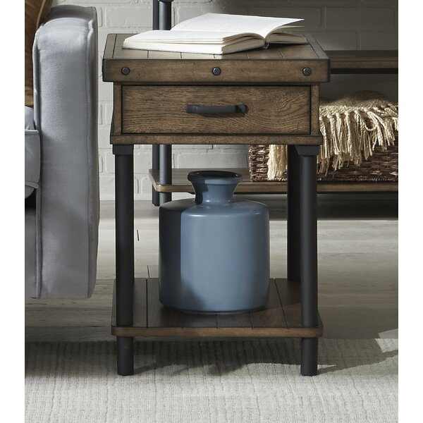 Roper End Table With Storage By 17 Stories