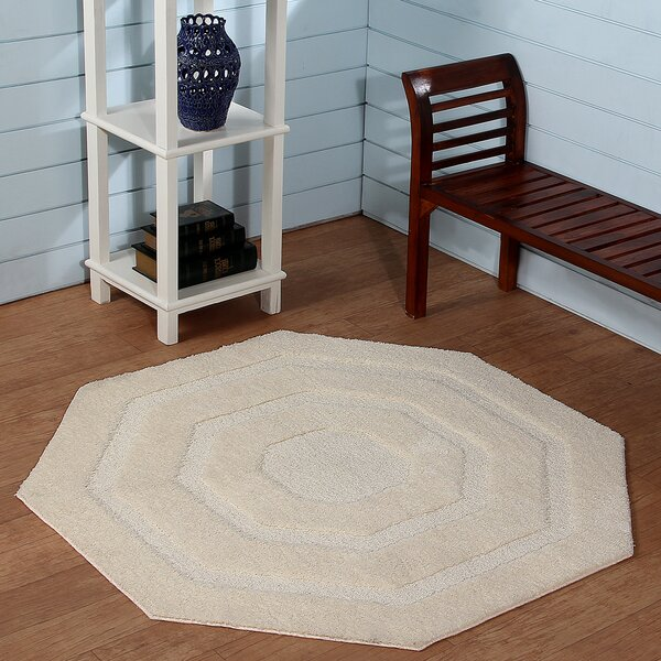 Hand-Tufted Ivory Area Rug by Better Trends